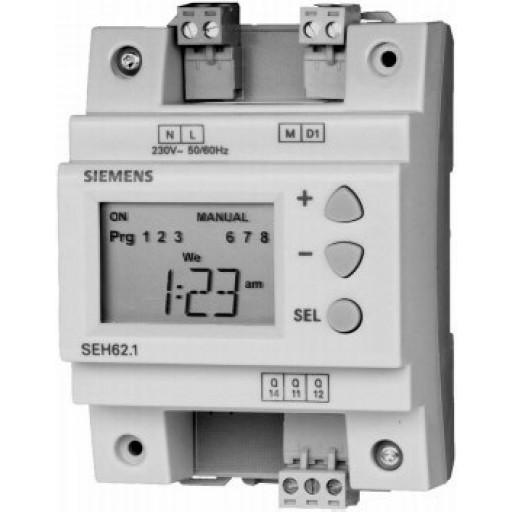 Недельный таймер Siemens SEH62.1