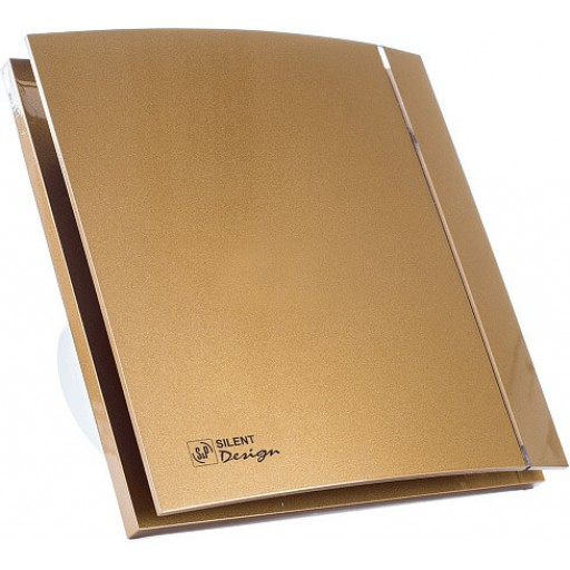 Вытяжной вентилятор Soler&Palau Silent-100 CZ Gold Design - 4C