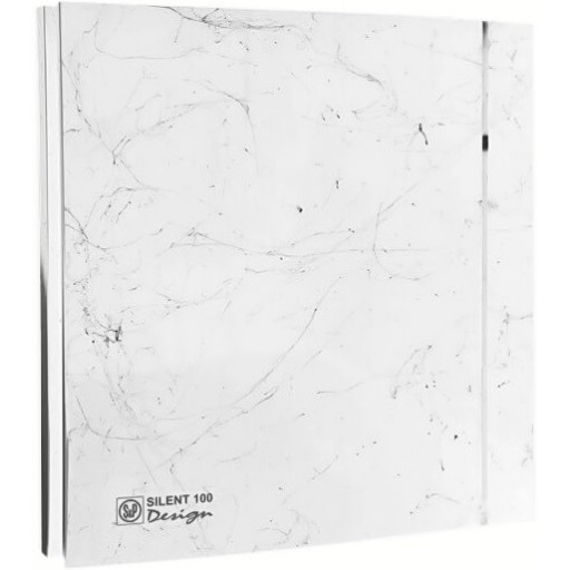 Вытяжной вентилятор Soler&Palau Silent-100 CZ Marble White Design - 4C