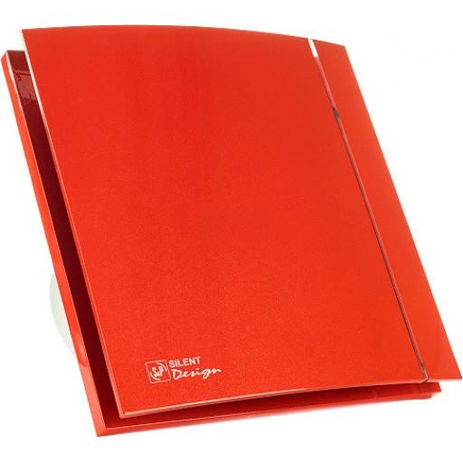 Вытяжной вентилятор Soler&Palau Silent-100 CZ Red Design - 4C