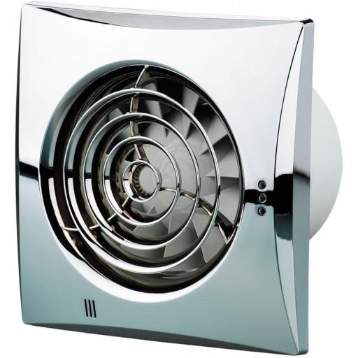 Вытяжной вентилятор Вентс Квайт 125 Хром