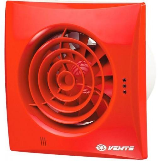 Вытяжной вентилятор Вентс Квайт 100 Красный