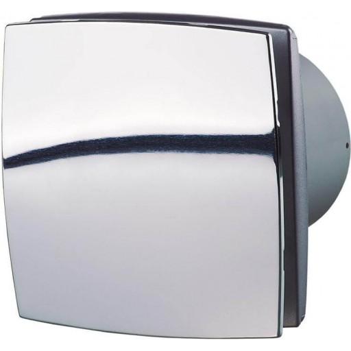Вытяжной вентилятор Вентс 100 ЛДА Хром