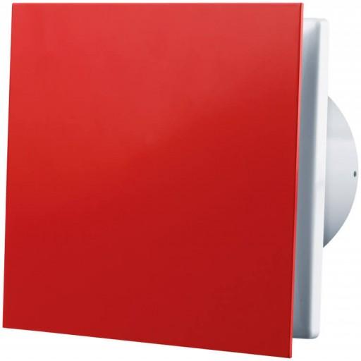 Вытяжной вентилятор Вентс 100 Солид Красный