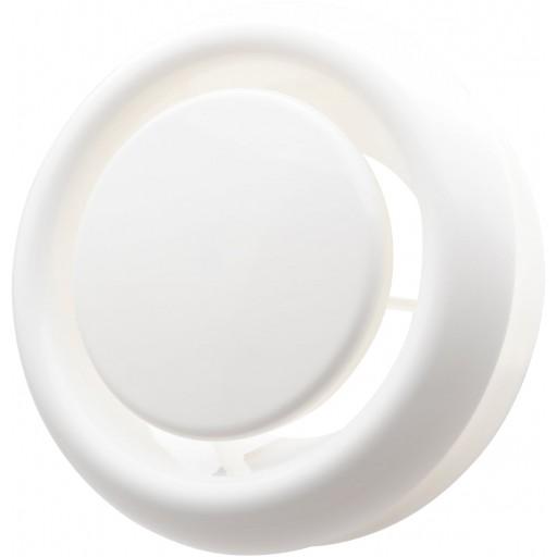 Анемостат приточно-вытяжной пластиковый DEC DVKR 100