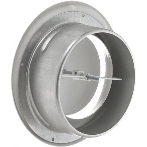 Анемостат вытяжной металлический DEC DVS 80