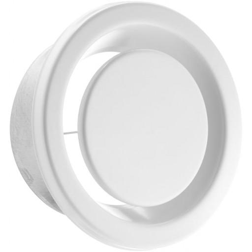 Анемостат вытяжной металлический DEC DVSER 100