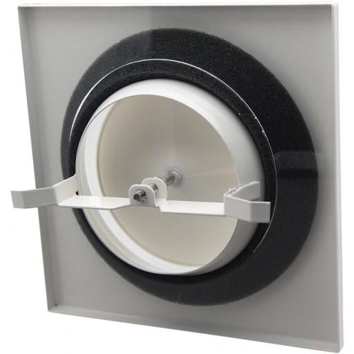 Анемостат приточный металлический DEC DVSQ-P 100