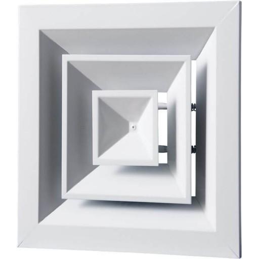 Диффузор потолочный приточно-вытяжной алюминиевый Вентс ДП 260х260