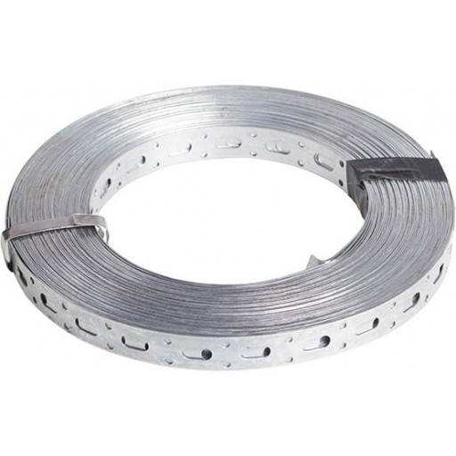 Перфорированная лента прямая Starfix 0.55х20 мм (рулон 25 м)