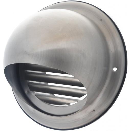 Колпак круглый из нержавеющей стали DEC D579 100