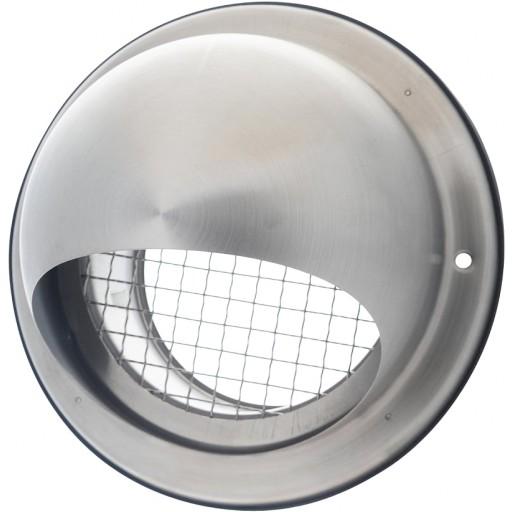 Колпак круглый из нержавеющей стали DEC D579L 100