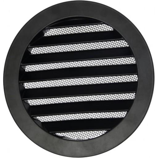 Вентиляционная решетка круглая алюминиевая DEC DSAV 160B