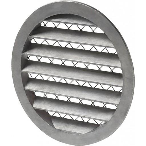 Вентиляционная решетка круглая алюминиевая Systemair IGC-100