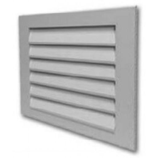 Наружная решетка квадратная алюминиевая Airone EAL 200х200