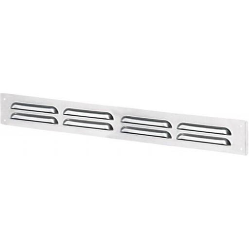 Дверная решетка прямоугольная металлическая Вентс МВМПО 500х90/5с А