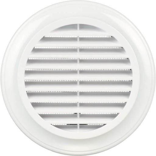 Вентиляционная решетка круглая пластиковая Blauberg Decor 80s