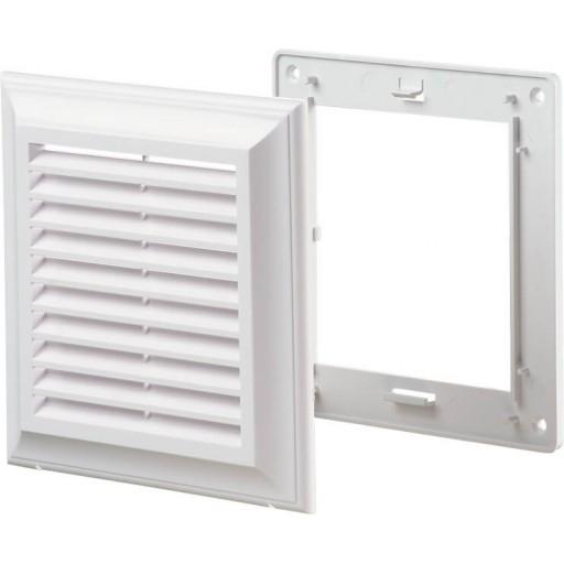Вентиляционная решетка квадратная пластиковая Blauberg Decor 140x140 Bs