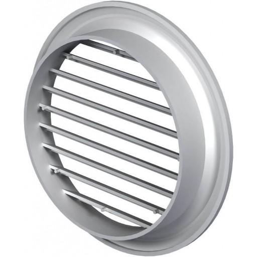Вентиляционная решетка круглая пластиковая Вентс МВ 100 бВс (Белая)