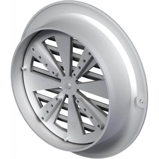 Вентиляционная решетка круглая пластиковая Вентс МВ 100 бВР (Белая)