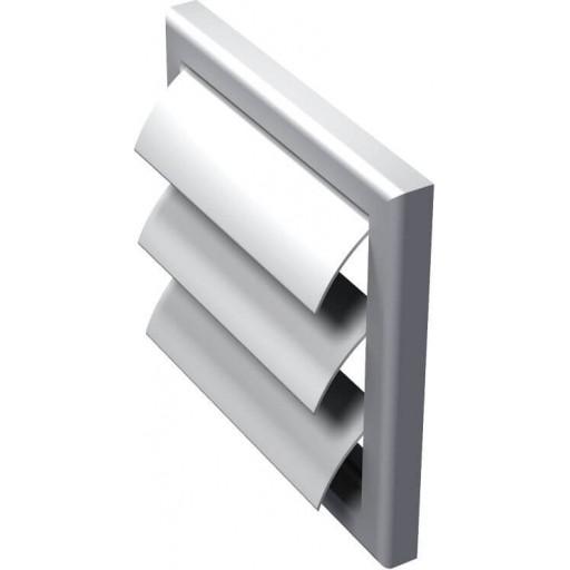 Гравитационная решетка квадратная пластиковая Вентс МВ 100 Ж
