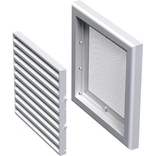Разборная решетка квадратная пластиковая Вентс МВ 100с
