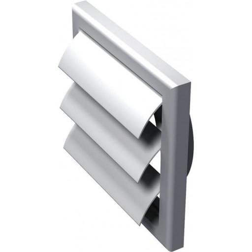 Гравитационная решетка квадратная пластиковая Вентс МВ 100 ВЖ