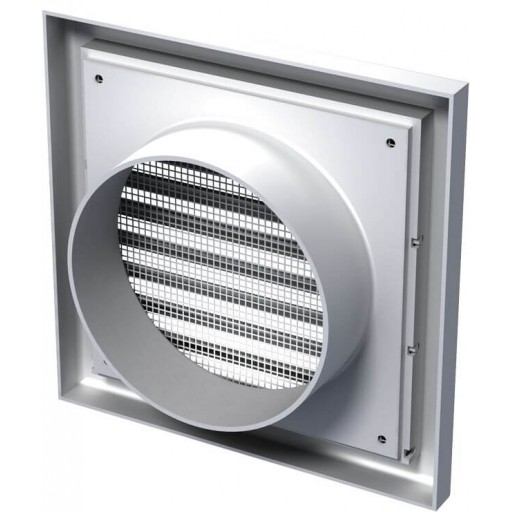 Разборная решетка квадратная пластиковая Вентс МВ 150 Вс