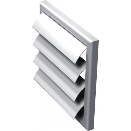 Гравитационная решетка квадратная пластиковая Вентс МВ 120 Ж