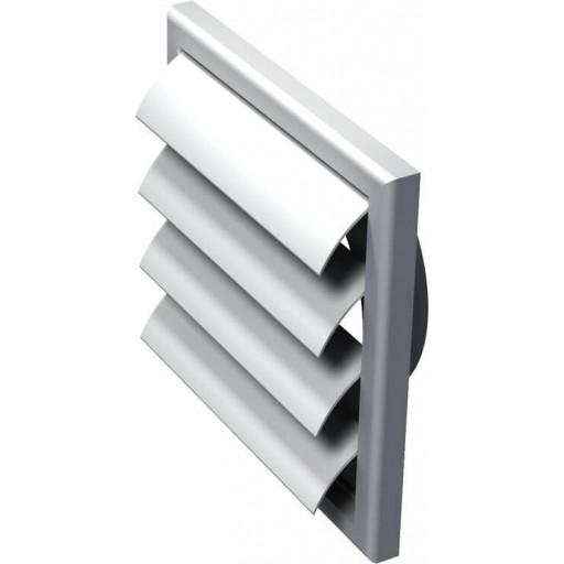 Гравитационная решетка квадратная пластиковая Вентс МВ 120 ВЖ