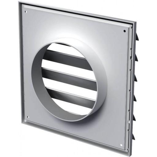 Гравитационная решетка квадратная пластиковая Вентс МВ 250/150 ВЖ