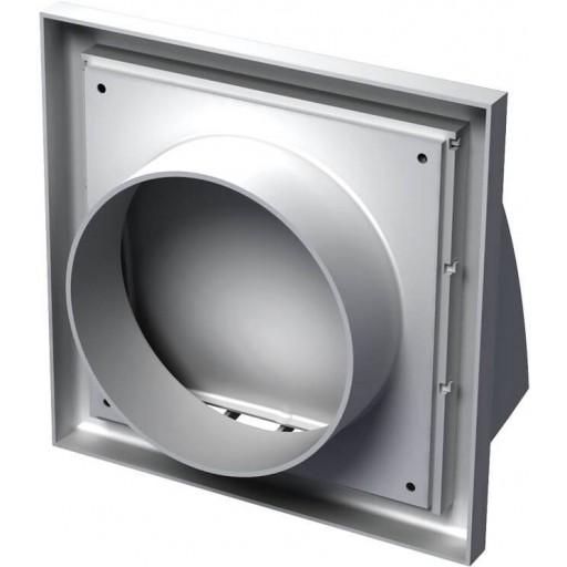 Вентиляционный колпак квадратный пластиковый Вентс МВ 152 ВК (Белый)