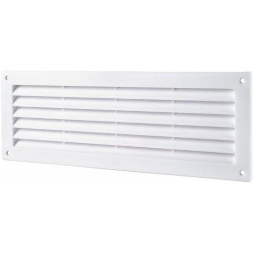 Дверная решетка прямоугольная пластиковая Вентс МВ 450