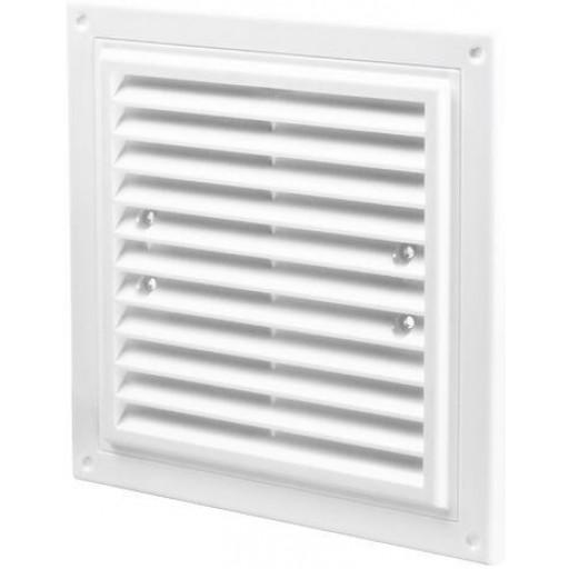 Вентиляционная решетка квадратная пластиковая Вентс МВ 175х175с