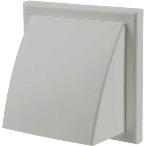 Вентиляционный колпак квадратный пластиковый Вентс МВ 122 ВК (Серый)