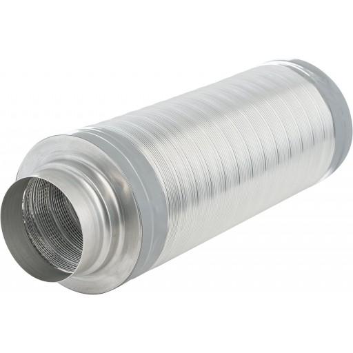 Гибкий гофрированный шумоглушитель DEC TSD 25 100/0,5