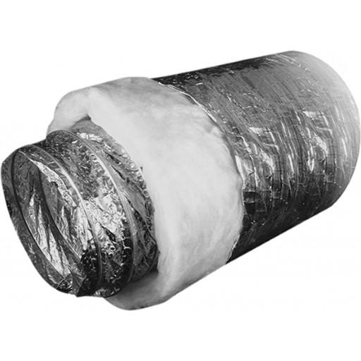Гибкий тепло- и шумоизолированный воздуховод из металлизированной пленки Ballu Machine SONOBFA-H 100/10