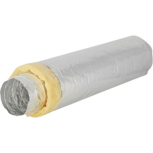 Гибкий тепло- и шумоизолированный алюминиевый воздуховод DEC Sonodec 25 100/10