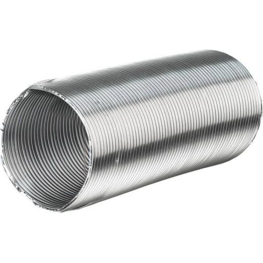 Гибкий гофрированный алюминиевый воздуховод Вентс Алювент Н 80/3