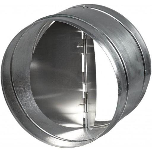 Обратный клапан круглый оцинкованный Вентс КОМ 100
