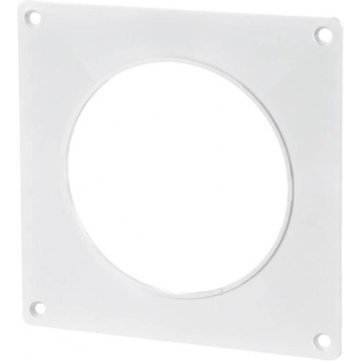 Пластина пластиковая для круглых воздуховодов Ø100 (15)