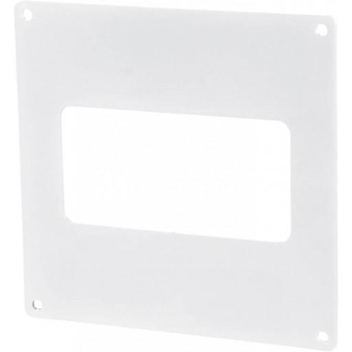 Пластина пластиковая для прямоугольных воздуховодов 55х110 (55)