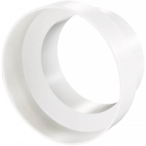 Редуктор (переход) круглый пластиковый Ø100/Ø80 (110)