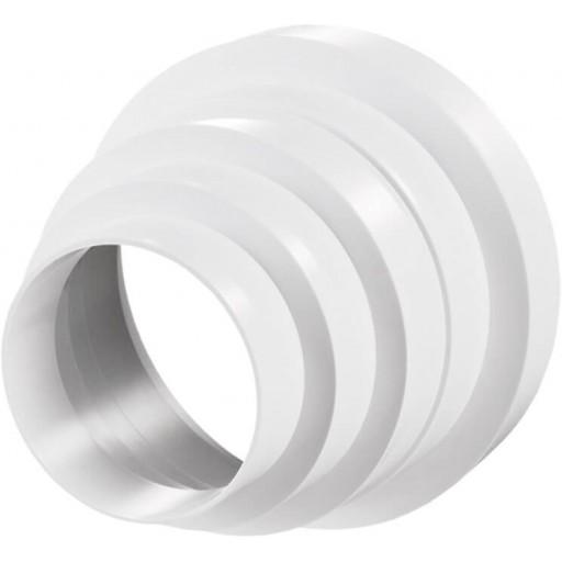 Редуктор (переход) универсальный пластиковый Ø150/Ø125/Ø120/Ø100/Ø80 (310)