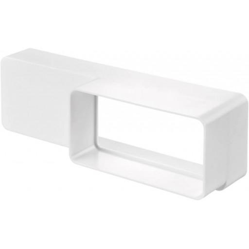 Редуктор (переход) прямоугольный пластиковый 60х204/55х110 (518)