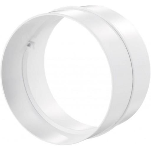 Соединитель пластиковый для круглых воздуховодов Ø100 (111)