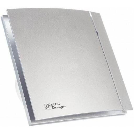 Вытяжной вентилятор Soler&Palau Silent-100 CRZ Silver Design