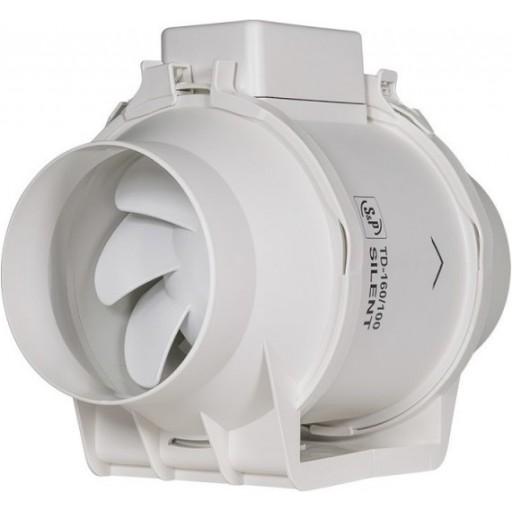 Шумоизолированный канальный вентилятор Soler&Palau TD-160/100 N Silent