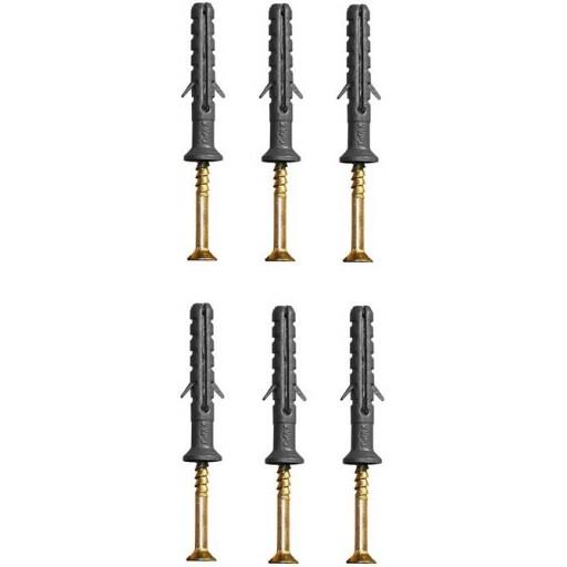 Дюбель-гвоздь Wave 6х40 мм гриб (100 шт в зип-локе)