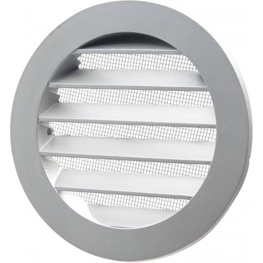 Вентиляционная решетка круглая алюминиевая Вентс МВМА 100 бВн Ал